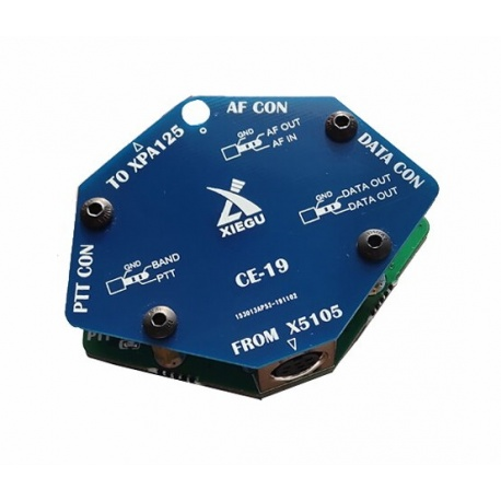 Xiegu CE-19 DIGI FT8 expansion port for X5105 and G90 Xiegu HF accessories XIEGU-CARTE-CE-19-1014