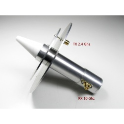 2.4 & 10 GHz Dual feed Antenna for Es'hail 2 / QO100 Satellite & QO-100 QO100-ANT-206914-DJ7GP-825