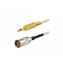 Pigtail mono-jack 3.5mm to TV Female socket