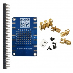 Demo Kit PCB and RF testboard to assemble for VNA & NanoVNA