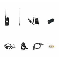 Pack Outdoor Baofeng UV-82 x2 : Softcase + Battery + Cable Baofeng HT Handheld PACK-BAOFENG-OUTDOOR-UV82-498