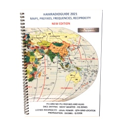 HamRadio Guide 2021 - Maps DXCC & QTH Locator