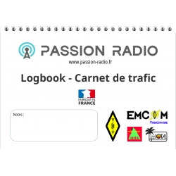 Paper logbook for hamradio - Passion Radio Passion Radio Goodies CARNET-LOGBOOK-589