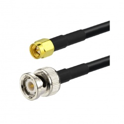 RG58 coaxial cable with BNC Male & SMA Male