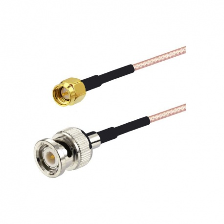 Pigtail SMA Male to BNC Male Passion Radio SMA PIGTAIL-SMA-M-BNC-M-78