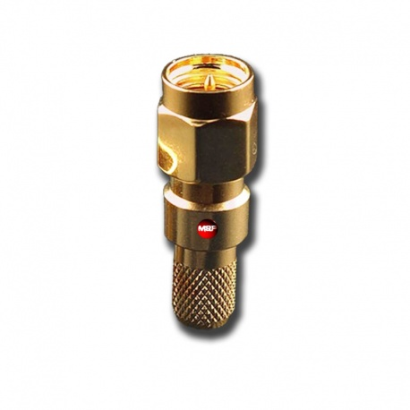 SMA Male RF connector for 5mm & 5.4mm cable RG58 HYPERFLEX5 AIRBORNE5