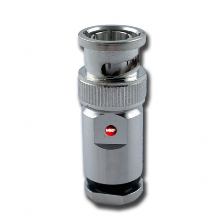 BNC Male connector for 5mm coaxial RG58 AIRBORNE5 & 5.4mm HYPERFLEX5