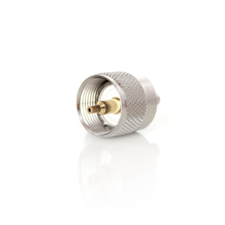 PL short PL259 (UHF male) for RG-58 cable - to crimp