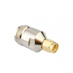 SMA Male N Female RF adapter Passion Radio N ADAPT-N-F-SMA-M-82