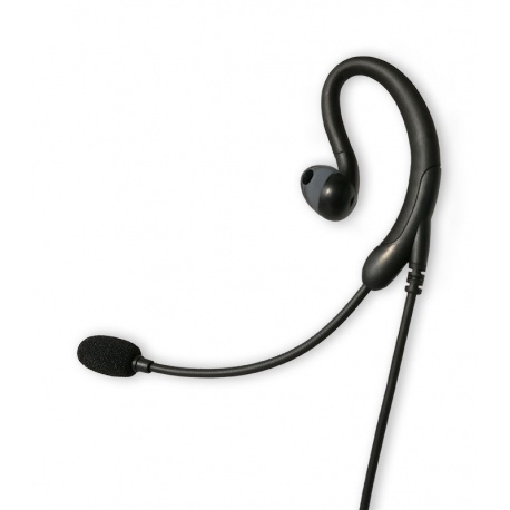 Boom mic with noise cancellation for Kenwood 2 Pin TYT Anytone Wouxun Baofeng