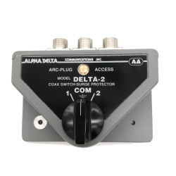 2 position antenna switch with SO-239 (UHF-female)