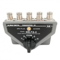 4 position antenna switch with N female ALPHA DELTA 4B-N
