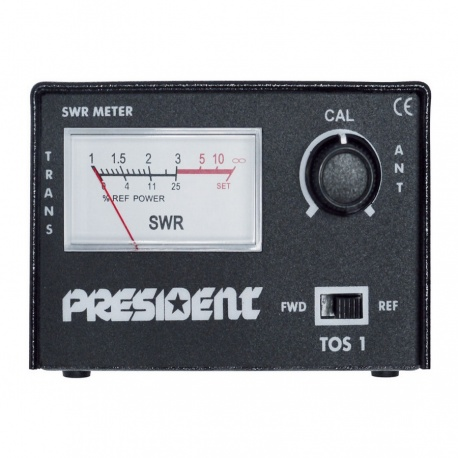 President TOS-1 SWR CB 27Mhz Counter