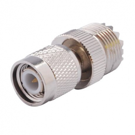 TNC Male to UHF Female connector adapter