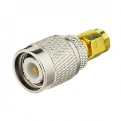 TNC Male to SMA Male connector adapter