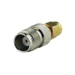 TNC Female to SMA Male connector adapter