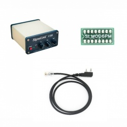 Signalink-RJ1 pack for TYT and Yaesu radio with RJ11 microphone socket