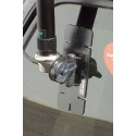 Adhesive backed mount for flat surface & glass