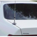 Heavy duty and design trunk mount antenna