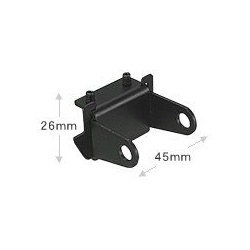 Roofside gutter mount bracket for K9000 Diamond Antenna Mounting bracket DIAMOND-KRS