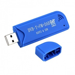 This RTL-SDR USB stick features the Realtek RTL2832U chipset