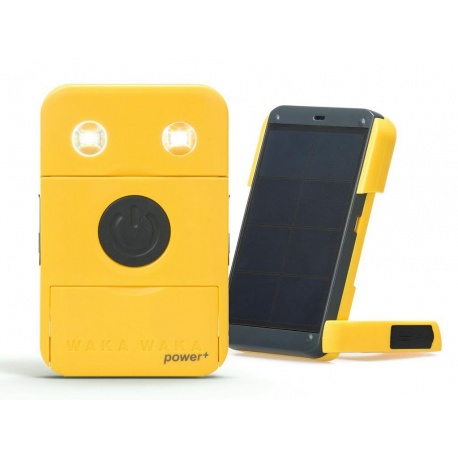USB Solar Charger + 2200mAh Battery + Lamp