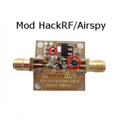 LNA preamp with BIAS-T for HackRF Airspy SDRPlay